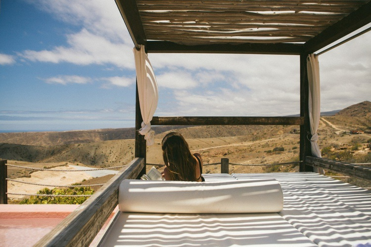 Camas balinesas Salobre Gran Canaria Golf Resort Maspalomas